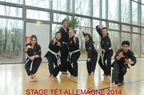 2014 - Stage du Têt (Allemagne)